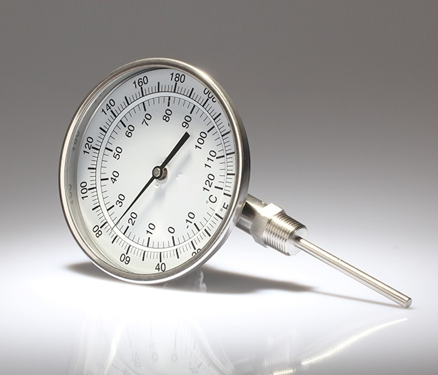 Bimetal thermometers (crimped model)